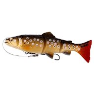 Savage Gear 3D Line Thru Dark Brown Trout 20 cm - Nástraha
