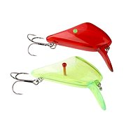 Savage Gear 4Play Lip Scul Treble UV Red / Green velikost M - Nástraha