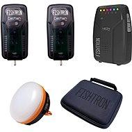 Flajzar sada příposlech Neon RX, 2x Catfish TX, kufřík, lampa - Sada hlásičů
