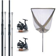 Sonik Xtractor 2 Rod Carp Kit 9' 2.7m 3lb - Fishing Kit