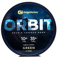 RidgeMonkey RM-Tec Orbit Double Tapered Mono 3x300m Green
