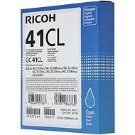 Ricoh GC41CL azurový - Toner