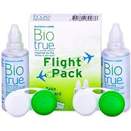 Biotrue Flight pack 2 × 60 ml - Roztok na kontaktní čočky