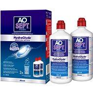 Roztok na kontaktní čočky AOSEPT PLUS s HydraGlyde 2× 360 ml