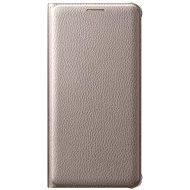 Samsung EF-WA510P Flip Wallet Cover pro Galaxy A5 (2016) zlaté - Pouzdro na mobilní telefon