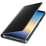 Samsung EF-ZN950C Clear View Cover pro Galaxy Note8 černé - Pouzdro na mobilní telefon