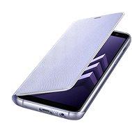 Samsung Neon Flip Cover Galaxy A8 (2018) EF-FA530P Violett - Pouzdro na mobilní telefon