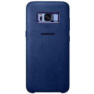 Samsung Alcantra Cover EF-XG950A Galaxy S8 modrý - Ochranný kryt