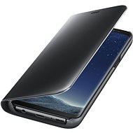 Samsung Clear View Standing EF-ZG955C Galaxy S8+ černé - Pouzdro na mobilní telefon