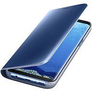 Samsung Clear View EF-ZG955C Galaxy S8+ modré - Pouzdro na mobilní telefon