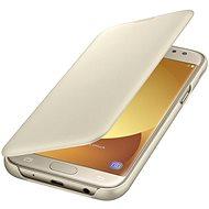 Samsung Wallet Cover Galaxy J5 (2017) EF-WJ530C zlaté - Pouzdro na mobilní telefon
