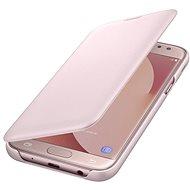 Samsung Wallet Cover Galaxy J5 (2017) EF-WJ530C růžové - Pouzdro na mobilní telefon