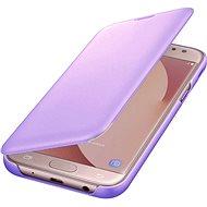 Samsung Galaxy J6 Wallet Cover levandulové - Pouzdro na mobilní telefon