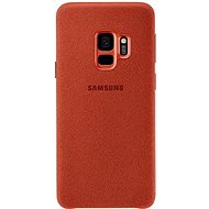 Samsung Galaxy S9 Alcantara Cover červený - Kryt na mobil