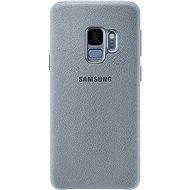 Samsung Galaxy S9 Alcantara Cover mint - Kryt na mobil