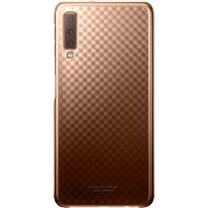 Samsung Galaxy A7 2018 Gradiation Cover Gold - Kryt na mobil