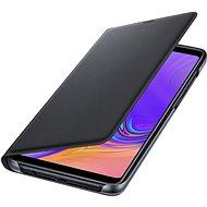 Samsung Galaxy A9 Flip Wallet Cover Black - Pouzdro na mobilní telefon