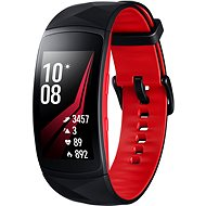 Samsung Gear Fit2 Pro Black Red - Fitness náramek