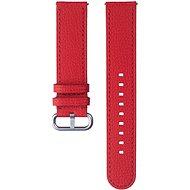 Samsung Kožený řemínek Braloba Essence Galaxy Watch Active 2 20mm červený - Řemínek