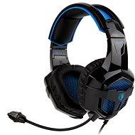 Sades B-Power černá/modrá - Herní sluchátka