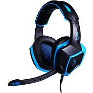 Sades Luna black/blue - Gaming Headset