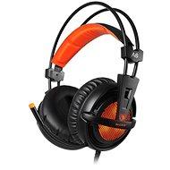 Sades A6 7.1 oranžové - Herní sluchátka