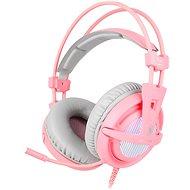Sades A6 7.1 růžové - Herní sluchátka