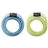 MasterLock 8143EURDPROCOL Spiral Combination Cable Lock - 1.2m - Bike Lock