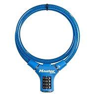 MasterLock 8229EURDPROBLU Ocelové kombinační lanko na kolo - 0,9m - Zámek na kolo