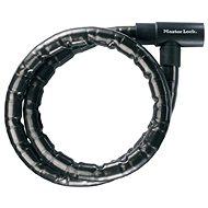 MasterLock 8115EURDPS Panceřované ocelové lanko - 120 cm - Zámek na motorku