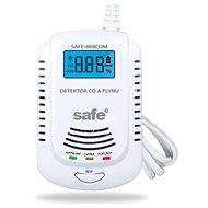 Kombinovaný detektor CO, hořlavých a výbušných plynů SAFE 808COM - Detektor plynu