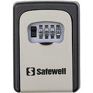 SAFEWELL Schránka na klíče šedá - Skříňka na klíče