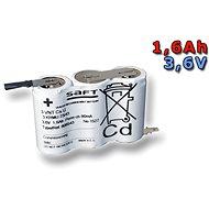 GOOWEI SAFT 3.6V 1600mAh vysokoteplotní (3SBSVTCs) - Jednorázová baterie