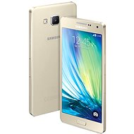 Samsung Galaxy A3 (SM-A300FU) Champagne Gold - Mobilní telefon