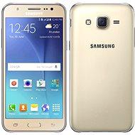 Samsung Galaxy J5 zlatý - Mobilní telefon