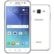 Samsung Galaxy J5 Duos bílý - Mobilní telefon