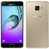Samsung Galaxy A3 (2016) zlatý - Mobilní telefon