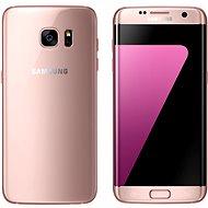 Samsung Galaxy S7 edge růžový - Mobilní telefon