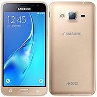 Samsung Galaxy J3 Duos (2016) zlatý - Mobilní telefon