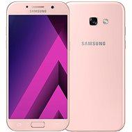 Samsung Galaxy A5 (2017) růžový - Mobilní telefon