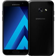 Samsung Galaxy A3 (2017) černý - Mobilní telefon