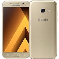 Samsung Galaxy A3 (2017) zlatý - Mobilní telefon