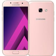Samsung Galaxy A3 (2017) růžový - Mobilní telefon
