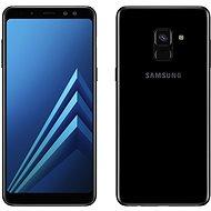 Samsung Galaxy A8 Duos černý - Mobilní telefon