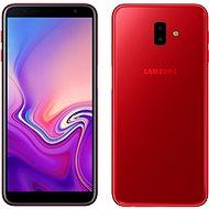 Samsung Galaxy J6+ Dual SIM červená - Mobilní telefon