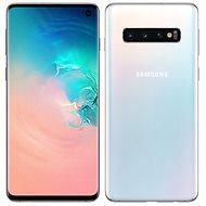 Samsung Galaxy S10 Dual SIM 128GB bílá - Mobilní telefon