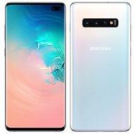 Samsung Galaxy S10+ Dual SIM 128GB bílá + ochranné sklo
