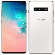 Samsung Galaxy S10+ Dual SIM 1TB Ceramic bílá - Mobilní telefon