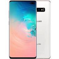 Samsung Galaxy S10+ Dual SIM 128GB Ceramic bílá - Mobilní telefon