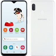 Samsung Galaxy A20e Dual SIM bílá v limitované edici od Seznamu